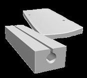 Concealed or V-shaped gutters
